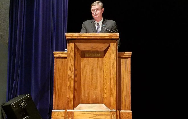 Niagara Falls Mayor Paul A. Dyster. (Thomas J. Prohaska/Buffalo News)
