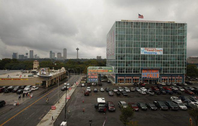 One Niagara building in Niagara Falls. (Derek Gee/News file photo)