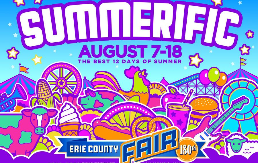 """This year's Erie County Fair poster proclaims the annual event """"Summerific"""""""