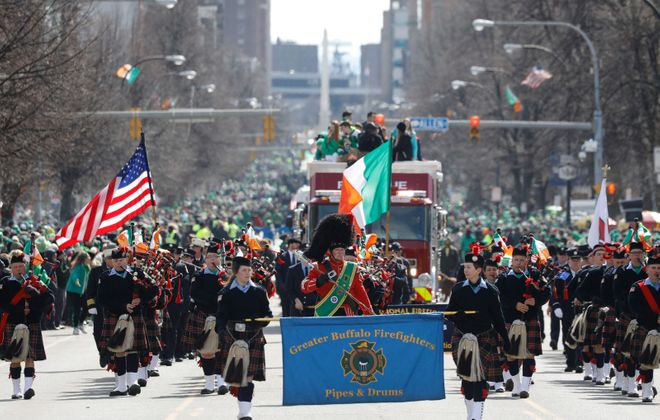The St. Patrick's Day parades – both downtown and in the Old First Ward – have been canceled for 2020. (News file photo)