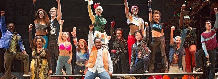 """The 20th anniversary tour of """"Rent,"""" now on stage at Shea's Buffalo Theatre, is a powerful reminder of the past."""