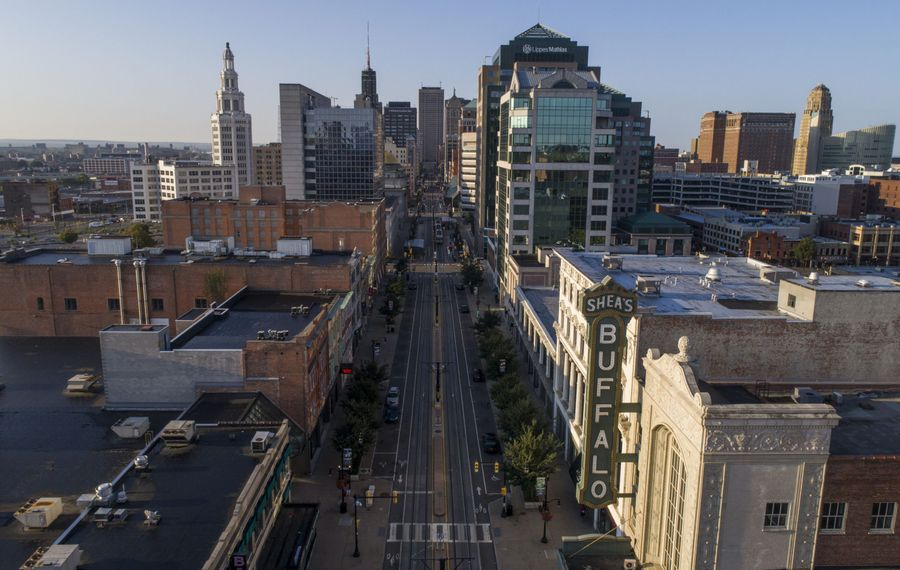 Investigations have shown that federal Community Development Block Grants in Buffalo have been used for reasons other than they were designed, for example to improve the city's Theatre District. (Derek Gee/News file photo)
