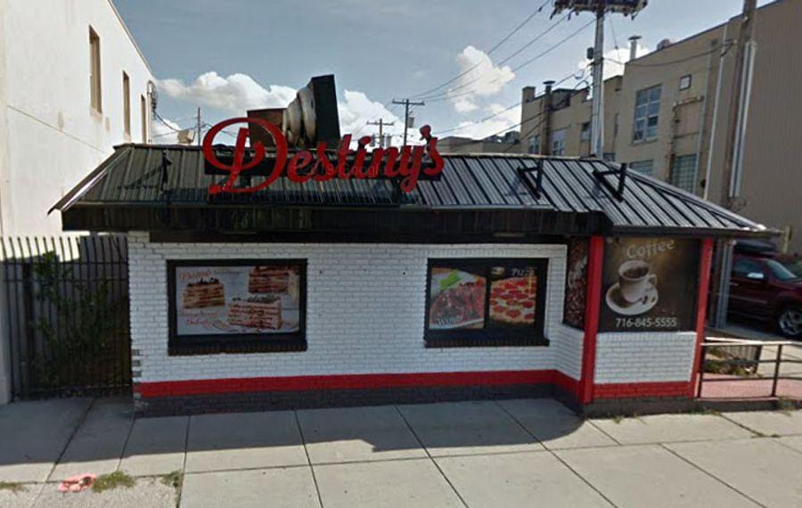 Destiny's Restaurant, at Main and Fillmore. (Google)