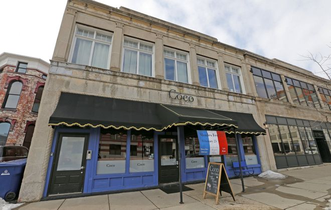 Coco Bar & Bistro at 888 Main St. in Buffalo is among the restaurants that have joined the effort to feed health professionals here. (Robert Kirkham/Buffalo News)