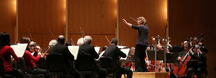 "Jeff Simon writes of the Buffalo Philharmonic's new record: ""Both the performances by the BPO and the sound quality of the disc are superb."" (Sharon Cantillon/Buffalo News)"