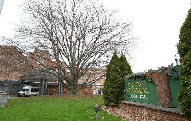 Brooks Memorial Hospital. in Dunkirk (News file photo)