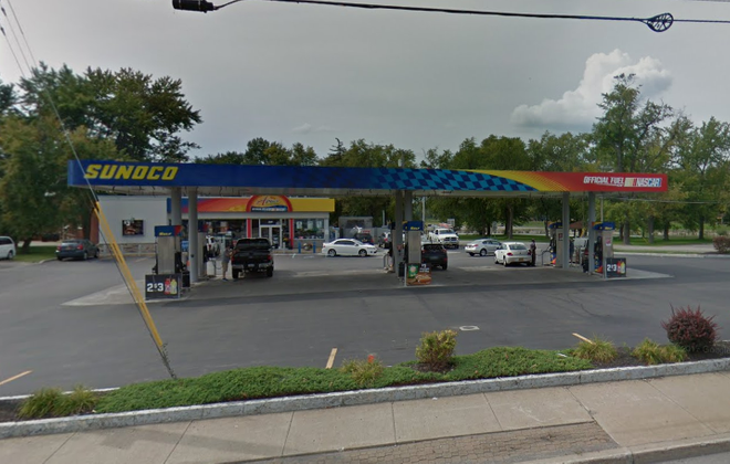 The Sunoco APlus at Niagara Falls Boulevard and South Ellicott Creek Road was robbed early Monday morning. (Google Street View image)
