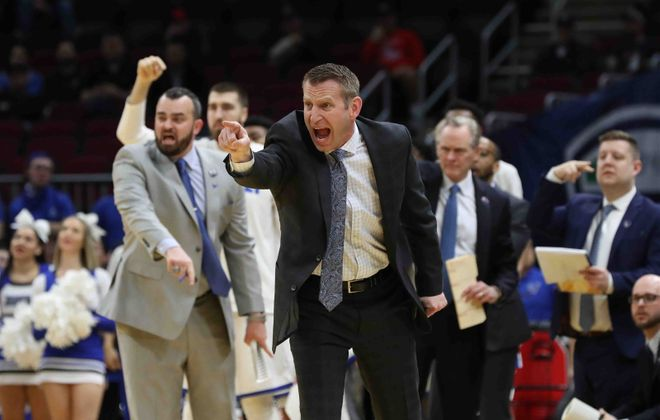 Former UB coach Nate Oats has landed his first commitment at Alabama (James P. McCoy/News file photo)