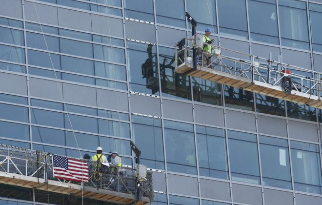 """The state's """"scaffold law"""" remains a point of contention between business groups and unions. (Buffalo News file photo)"""