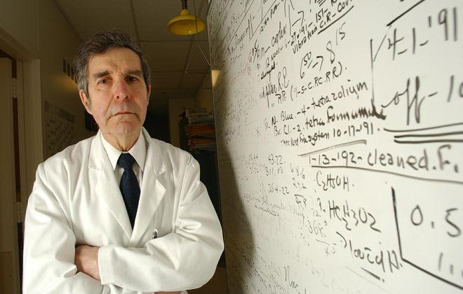 Dr. J. Paul Binette, shown in 2003. (News file photo)