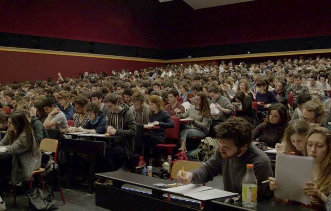 "The French documentary ""The Competition"" is about the French film school, La Femis."