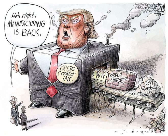 Border crisis: January 10, 2019