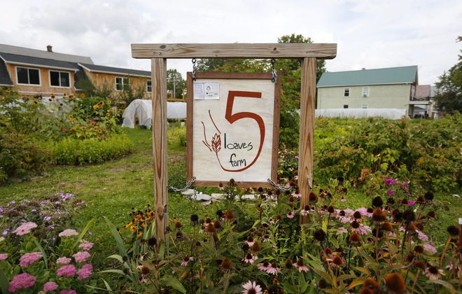 5 Loaves Farm on West Avenue in Buffalo is a past grant recipient.            (Mark Mulville/Buffalo News file photo)