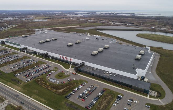 Elon Musk has never visited the Tesla factory at RiverBend. (Derek Gee/News file photo)