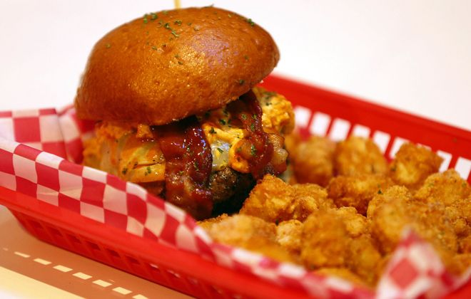 The Buffalo Wing Dipper has made the menu for the second Rock Burger location. (Mark Mulville/News file photo)