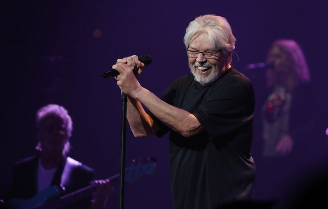 Bob Seger talked a lot to the sold-out audience at KeyBank Center where he performed as part of his final tour. (Sharon Cantillon/Buffalo News)