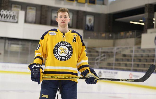 Canisius hockey's Dylan McLaughlin. (John Hickey/News file photo)