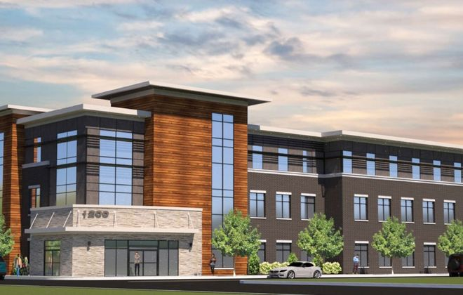 A new three-story office building for nonprofits is planned for Jefferson Avenue.