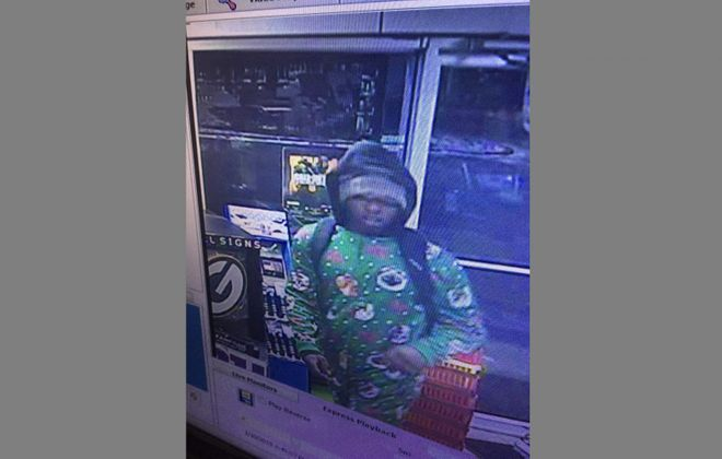 Cheektowaga police are seeking this robbery suspect. (Cheektowaga Police photo)