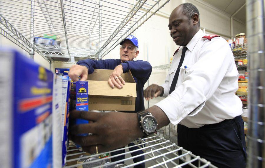 Major Celestin Nkounkou, shown here in 2011 (Harry Scull Jr./News file photo)