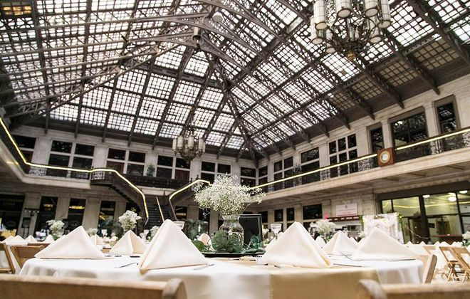 All Occasions has catered off-site weddings at many WNY venues including Ellicott Square Building.
