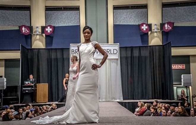 Looks from the 2019 Brides World Fashion Show