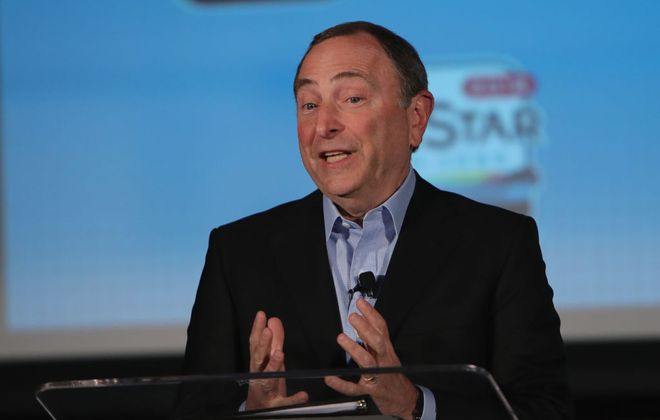 Commissioner Gary Bettman (Getty Images)