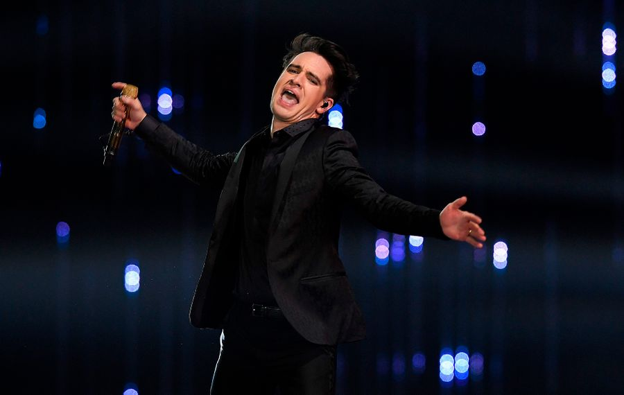 Panic! at the Disco frontman Brendon Urie will lead the charge at the first major arena show in Buffalo for 2019. (Lluis Gene/AFP/Getty Images)