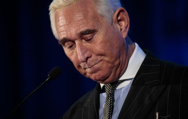 Former Trump adviser Roger Stone. (Getty Images)