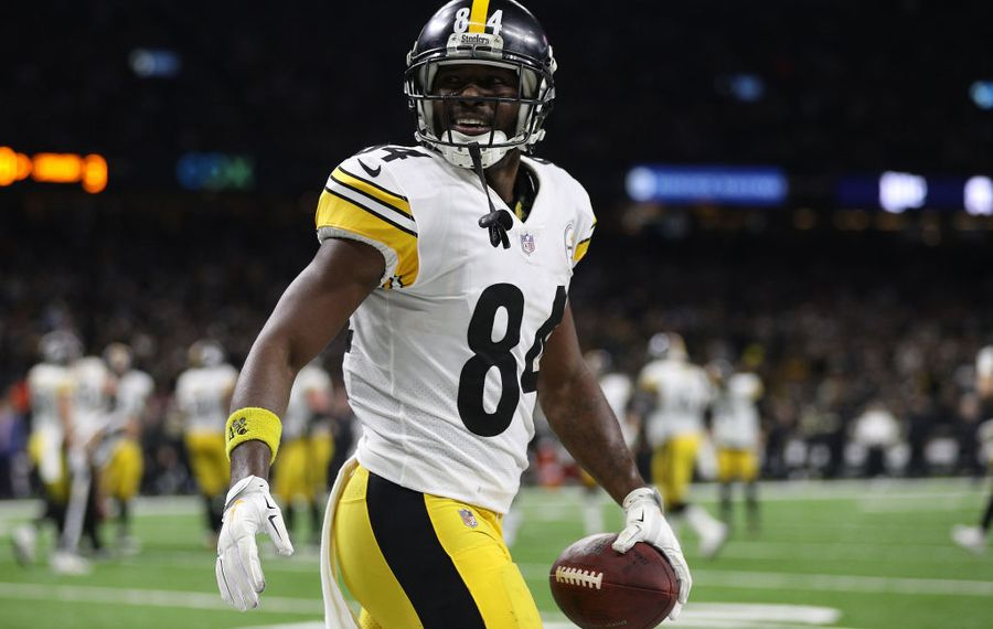 Antonio Brown Steelers >> Bills Move On After Trade Talks With Steelers For Antonio
