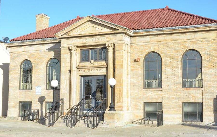 A free Open House event will be held at the Beverly Gray Business Exchange Center located at 334 East Utica St. in the former N. Jefferson public library branch. (Photo provided by City of Buffalo)