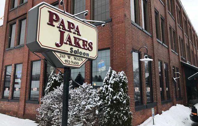 Papa Jakes Saloon, at 243 W. Main St. in Springville, has confirmed its closing. (Harry Scull Jr./Buffalo News)