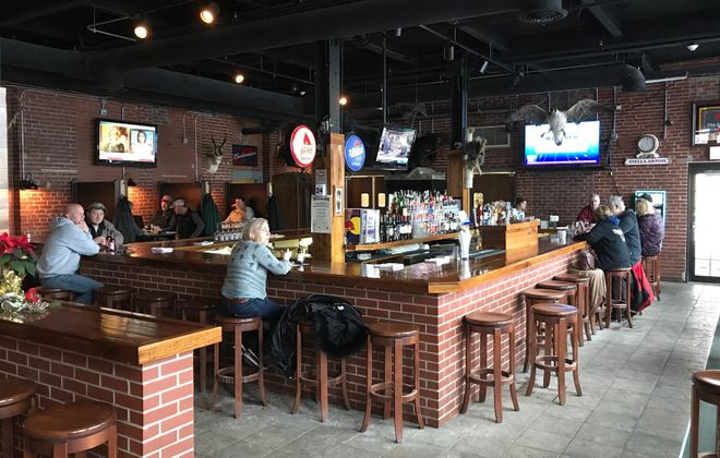 The former Papa Jakes in Springville - in the former Robinson Knife factory - will become a second location for Steelbound Brewery. (Harry Scull Jr./News file photo)