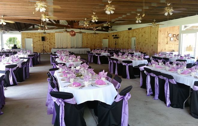Joseph's in Depew offers several venue spaces including an enclosed glass pavilion.