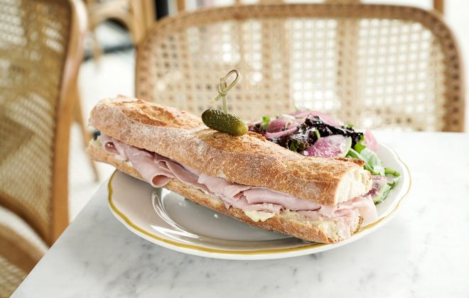 Find the classic French sandwich, jambon beurre (ham and butter), at Remedy House. (Dave Jarosz)