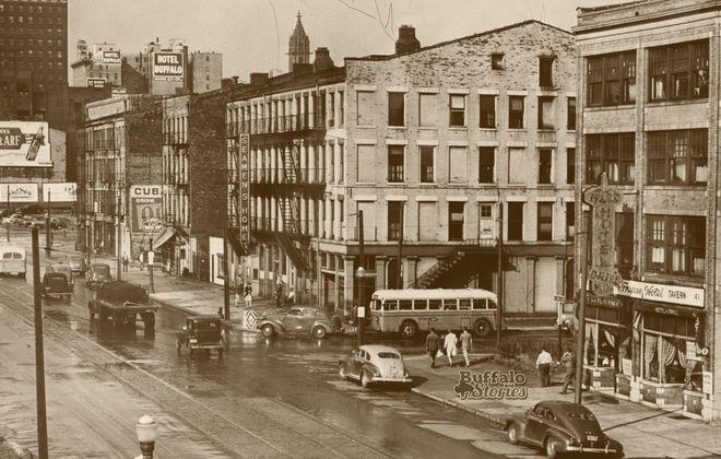 The Seaman's Home, lower Main Street, 1946.