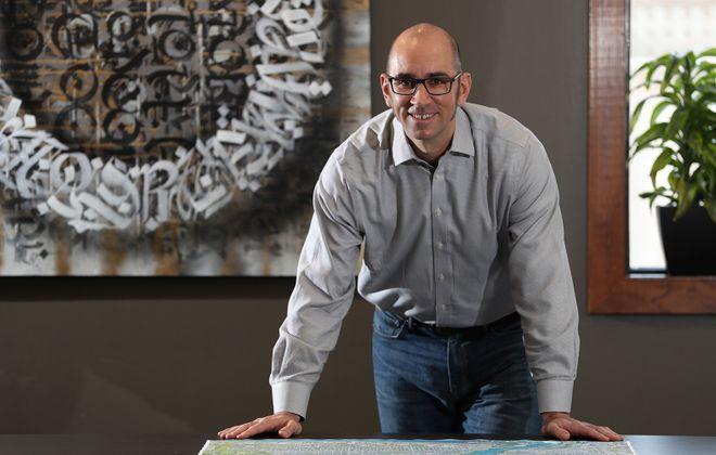 Chris Campos is president of TM Montante.  (Sharon Cantillon/Buffalo News)