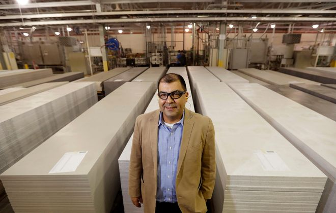 DuPont plant manager David Ledesma. (Mark Mulville/Buffalo News)