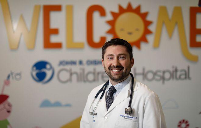 Dr. Stephen J. Turkovich, chief medical officer at  Oishei Children's Hospital. (Derek Gee/Buffalo News)