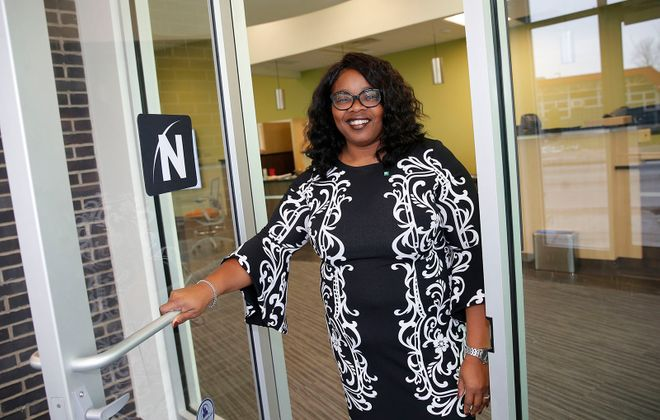 Northwest Bank executive Trina Burruss. (Robert Kirkham/Buffalo News)
