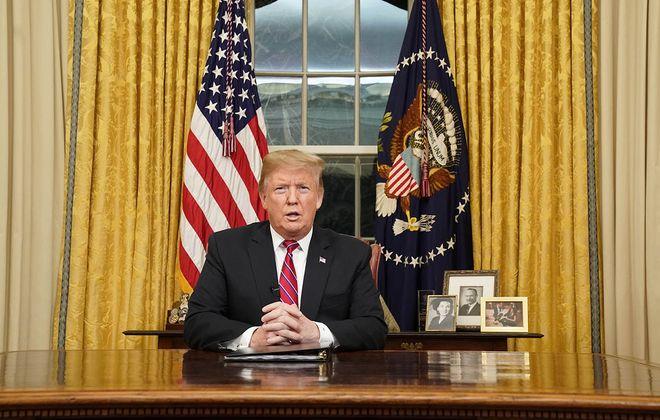 President Donald Trump. (Carlos Barria/Getty Images/Pool/Abaca Press/TNS)