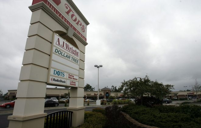 The owners of University Plaza in Amherst are putting the plaza on the market. (Harry Scull Jr./News file photo)