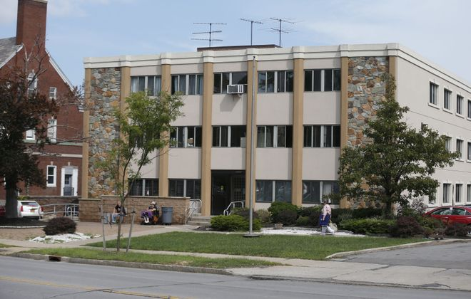 Emerald South Nursing and Rehabilitation Center on Delaware Avenue has boarded up its doors after transferring the last of its residents to other facilities in the city. (News file photo)
