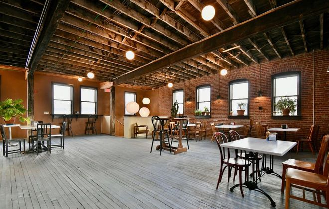 Investments by customers have enabled Five Points Bakery to open its second floor for customer seating and events. (Five Points Bakery)
