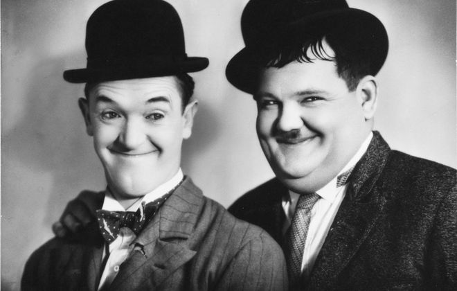 The works of Laurel and Hardy will be featured multiple times throughout the Western New York Movie Expo.
