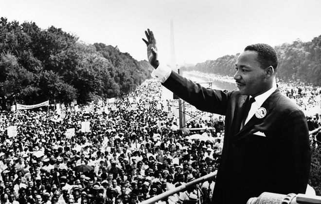 On the holiday celebrating one of the 20th century's most consequential men, Martin Luther King Jr. should be remembered not only as a great orator, but as a man of courage and action. (Getty Images)