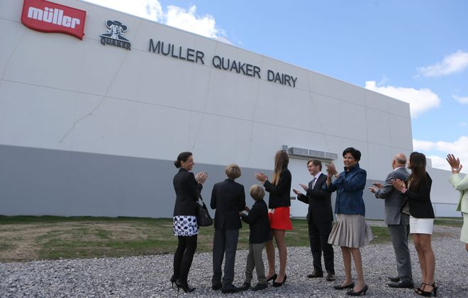 Muller Quaker Dairy's plant closed in late 2015. (News file photo)