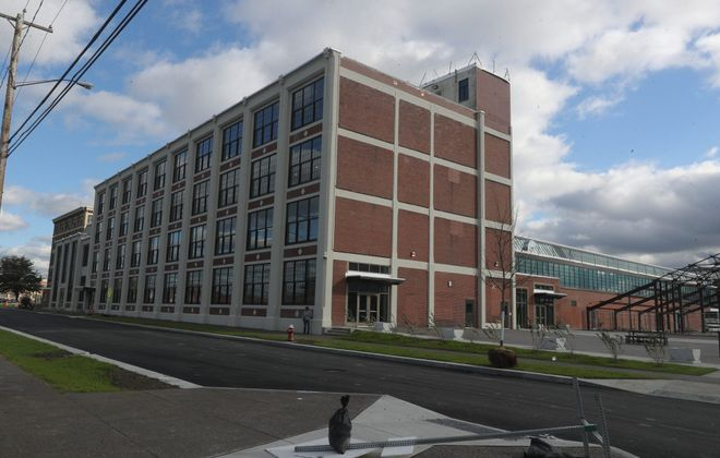 The Northland Workforce Training Center is among the signs of new investment on the East Side. (John Hickey/Buffalo News)