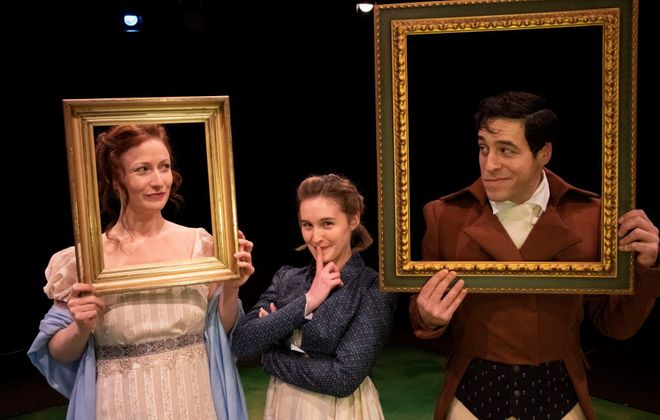 """""""Sense & Sensibility"""" is presented by the Irish Classical Theatre Company from Jan. 18 to Feb. Feb. 10. (Photo by Gene Witkowski)"""