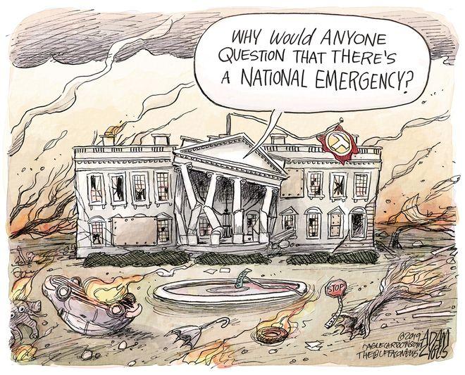 Political emergency: February 16, 2019